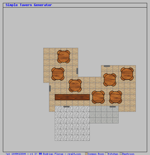 simple tavern map